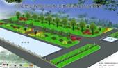 国风塑业绿化设计效果图